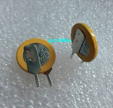 2 x New 3V Tabbed CR1220 Battery Coin Cell Button With 2 solder Tabs Pins