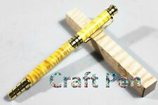 Handmade Craft Ripple Maple Wood Pen With One Ball point&One Fountain Pen Refill