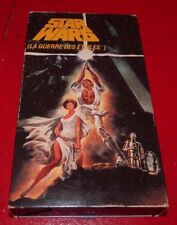 VHS Movie La Guerre des Étoiles Version Française !