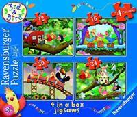 CBeebies 3rd & Bird 4 In Box Jigsaw Puzzle Muffin Rudy Samuel Ravensburger RARE