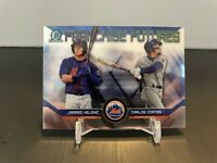 Jarred Kelenic / Carlos Cortes 2018 Bowman Chrome Franchise Futures #FF-NYM