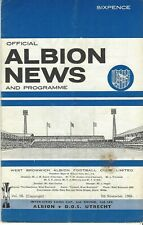 West Bromwich Albion v. DOS Utrecht Inter-Cities Fairs Cup 1966-1967