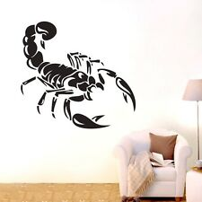 ONE LARGE scorpion Wall Stickers Home Decal Removable Art BOYS Vinyl Decor DIY