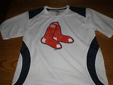 BOSTON RED SOX STITCHES BY MLB SHORT SLEEVE SHIRT LARGE