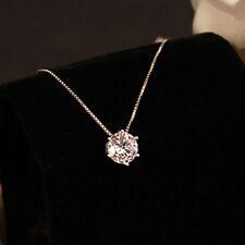 Mode Bergkristal Hanger 925 Sterling Zilveren Halsketting