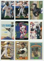 SAN FRANCISCO GIANTS HOF/STAR Baseball Card Lot - 46 Cards - BARRY BONDS, MAYS
