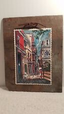 HISTORIC 228 YEARS OLD NEW ORLEANS ROOFING SLATE VIEUX CARRE ST. PETER PRINT MAX