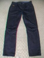 MENS G STAR '5620 3D DIMENSION TAPERED' JEANS SIZE 32 L