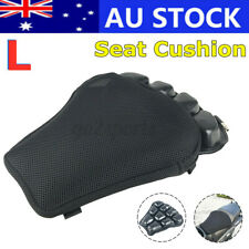 Motorcycle Inflatable 3d Seat Cushion Non-slip Breathable Cover Mesh Air Pad L