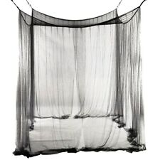 SALE! New 4-Corner Bed Netting Canopy Mosquito Net for Queen/King Sized Bed