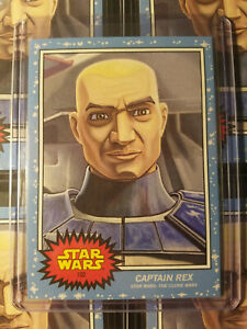 Topps Star Wars Living Set  #102 Captain Rex - Bad Batch on Disney+ HOT!