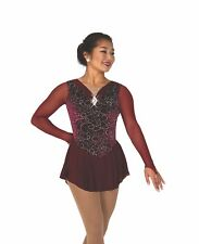 Ice Figure Skating Dress Practice Pants w//Spangle S03