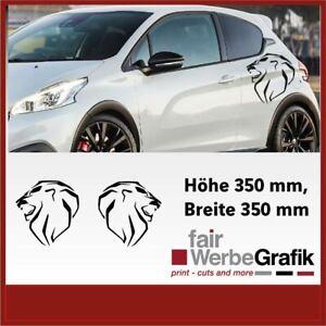 Peugeot Logo Neu Aufkleber / Seitenstreifen / Peugeot / Dekor / #603