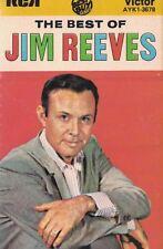 Jim Reeves The Best Of Jim Reeves Audio Music Cassette RCA Victor AYK1-3678