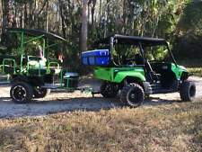 Kawasaki  UTV side by side tag-a-long 4 person trailer