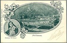 1903 PONT-CANAVESE COSTUME VAL SOANA Cartolina viaggiata Torino