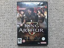 King Arthur-Nintendo Gamecube no las instrucciones PAL Reino Unido
