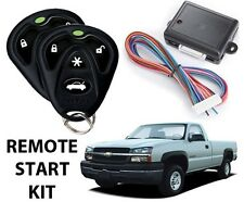 2003 2004 2005 2006 2007 CHEVY SILVERADO REMOTE START KIT W/ BYPASS AVITAL 4103