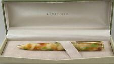 Levenger True Writer French Impression & Gold Ballpoint Pen - New In Box