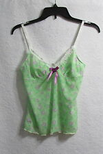 Women's Yamamay Green Floral Cami Size Medium