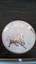 Republique Du Cameroun 500 Francs CFA TAURUS Zodiac Silver Coin 2010