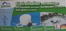 PondoPolarAir Eisfreihalterset mit Teichbelüfter Frostschutz Winterschutz