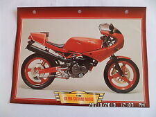 CARTE FICHE MOTO GILERA SATURNO NUOVO 1988