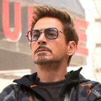 Iron Man 3 Sunglasses Gray Lens Robert Downey TONY STARK Driving Aviator Goggles