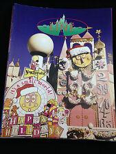 Cast Member Newsletter Disneyland Line Vol 29 #52 December 1997 small world