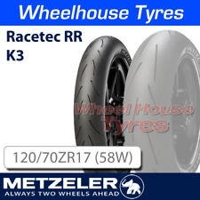Metzeler Racetec RR frontal K3 120/70ZR17 (58W)
