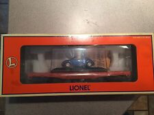Lionel 19483 Flat Car w/ Volkswagon Beetle New in Box!