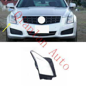 Right Side Lucency Headlight Cover With Glue For Cadillac ATS 2013-2018