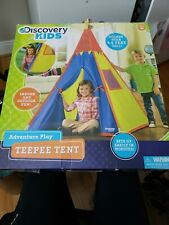 Discovery Kids Adventure Teepee Tent, 4.5 Feet Tall