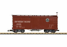 LGB 48672 SOUTHERN PACIFIC BOX CAR WITH METAL WHEELS - G SCALE - NEW