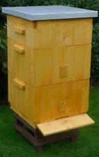 BIENENBEUTE mit Öko- Farbe imprägniert !VARROASCHUBLADE Bienenkasten 30 Rähmchen