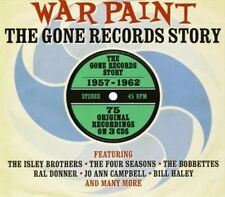 *NEW*  Various Artists - War Paint (The Gone Records Story) (3xCD) . FREE UK P+P