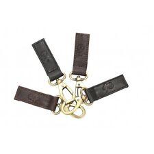 leather keyring clip luggage handbag