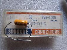 1uf 50vdc Sprague Atom Tva 1300 Axial Capacitor 1uf 50v 50dc Usa Nos