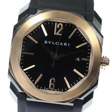 BVLGARI OCTO SOLO TEMPO ULTRA NERO BGOP41SG Automatic Men's Watch_529229