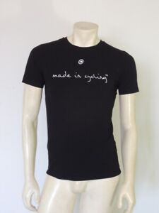 ASSOS Made in Cycling Cotton Blend Black Short Sleeve Tee Shirt Size SMALL
