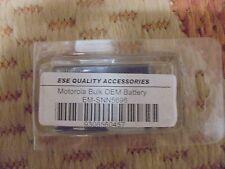 Ese Quality Accessories Motorola Bulk Oem Battery Em-Snn5696