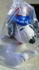 2011 MetLife Insurance Co. Charles M. Schulz Peanuts Uncle Sam Snoopy Plush Toy