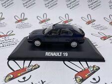 """DIE CAST """" RENAULT 19 - 1988 """" NOREV 1/43"""