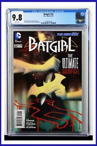 Batgirl #22 CGC Graded 9.8 D.C. Comics September 2013 White Pages Comic Book