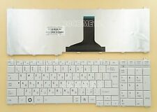 for Toshiba L755D L770 L770D L775 L775D Keyboard Hebrew Israel White