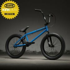"2019 Kink Curb 20"" BMX Bike (Matte Aquatic Blue) Complete BMX Bike"