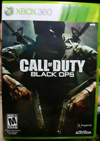 Call of Duty: Black Ops Microsoft Xbox 360 Complete CIB Video Games Gaming *