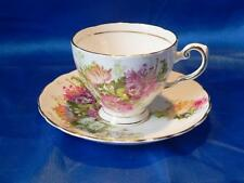 Vintage Tuscan  fine bone China Cup  &  Saucer  Pretty Floral pattern