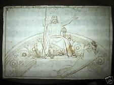 Old Master drawing Jupiter sending the Evil Dream
