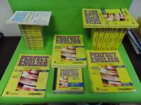 CORSO INGLESE MULTIMEDIALE CON VHS. PERFECT ENGLISH. LONGMAN. LA REPUBBLICA